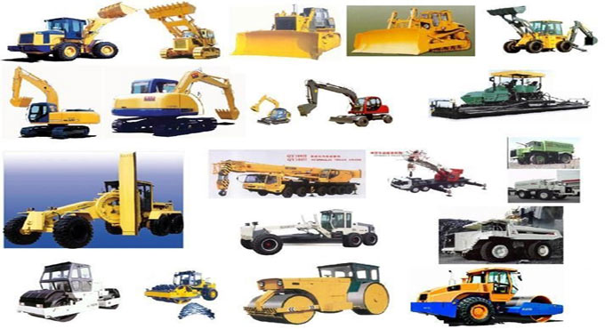 Type of Equipment use in construction