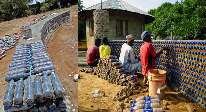 Plastic bottles Turns into Construction Materials - Civil Engineering