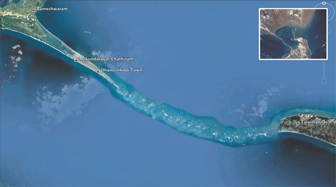 Rama Setu - An Engineering Wonder of 5076 BCE